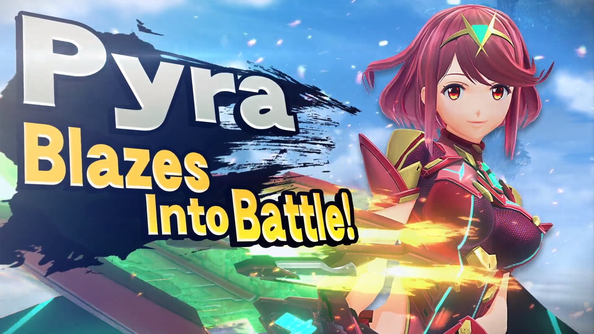 Pyra Smash Ultimate Cover