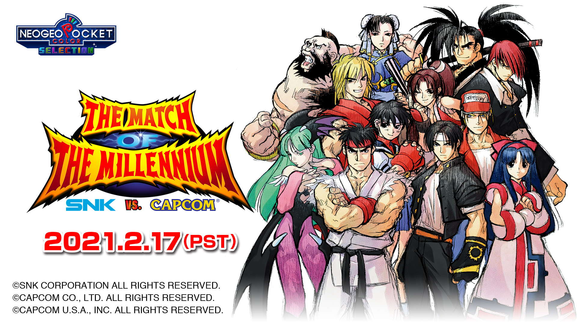SNK vs Capcom Match of the Millennium