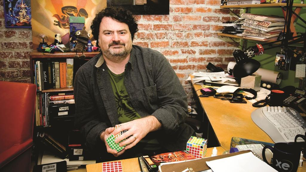Tim Schafer Cover