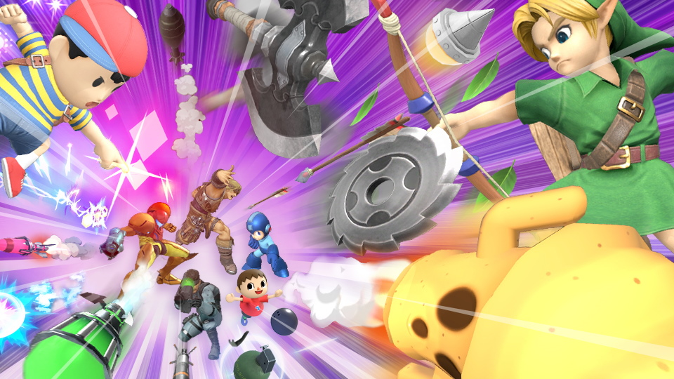 Super Smash Bros. Ultimate torneo proiettili