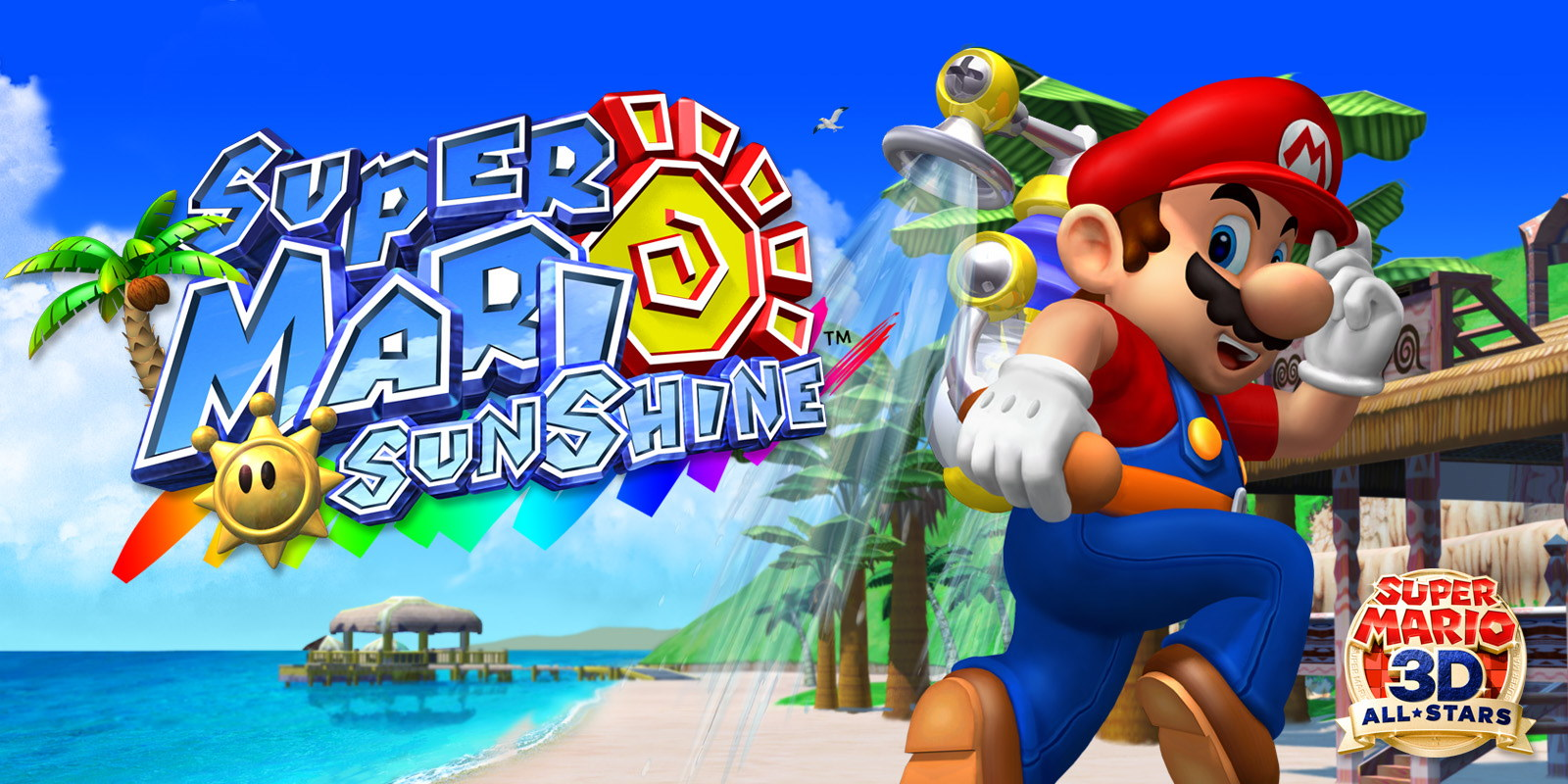 Super Mario 3D All-Stars Super Mario Sunshine