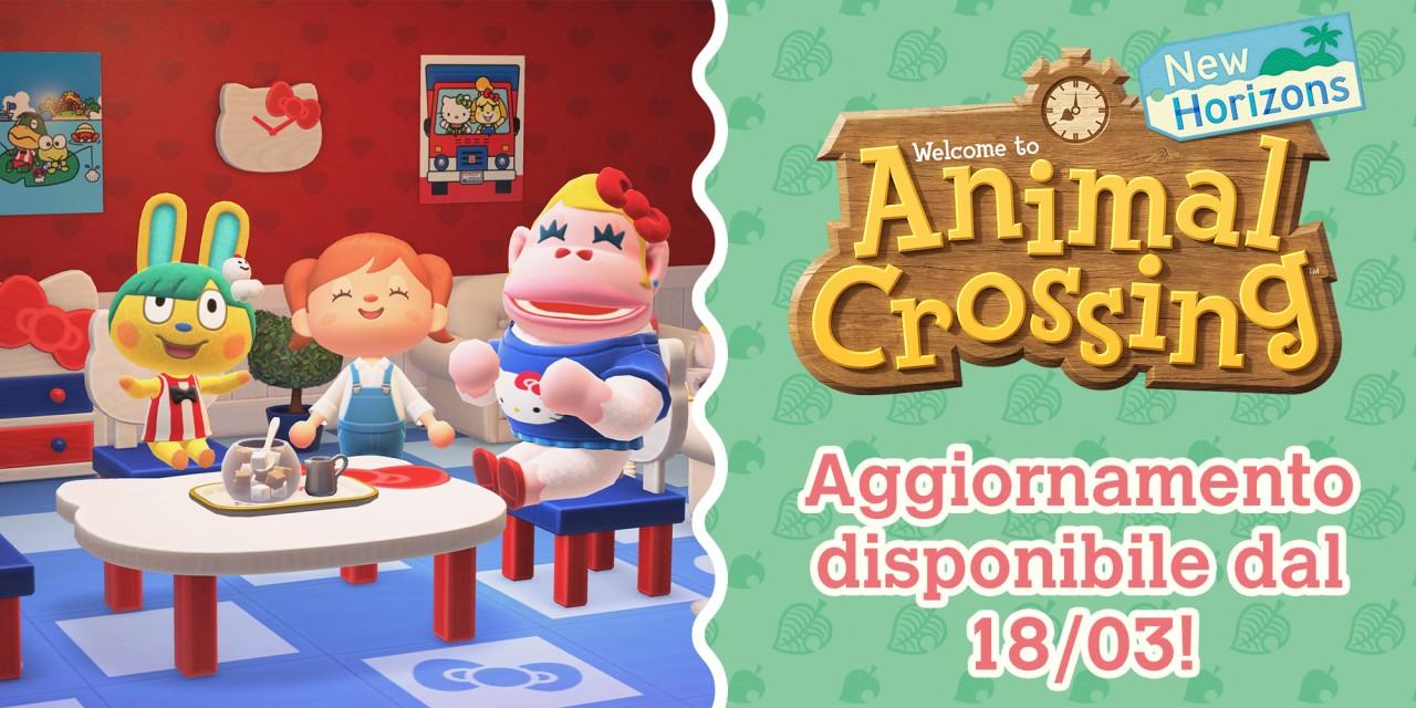 Animal Crossing: New Horizons aggiornamento marzo 2021