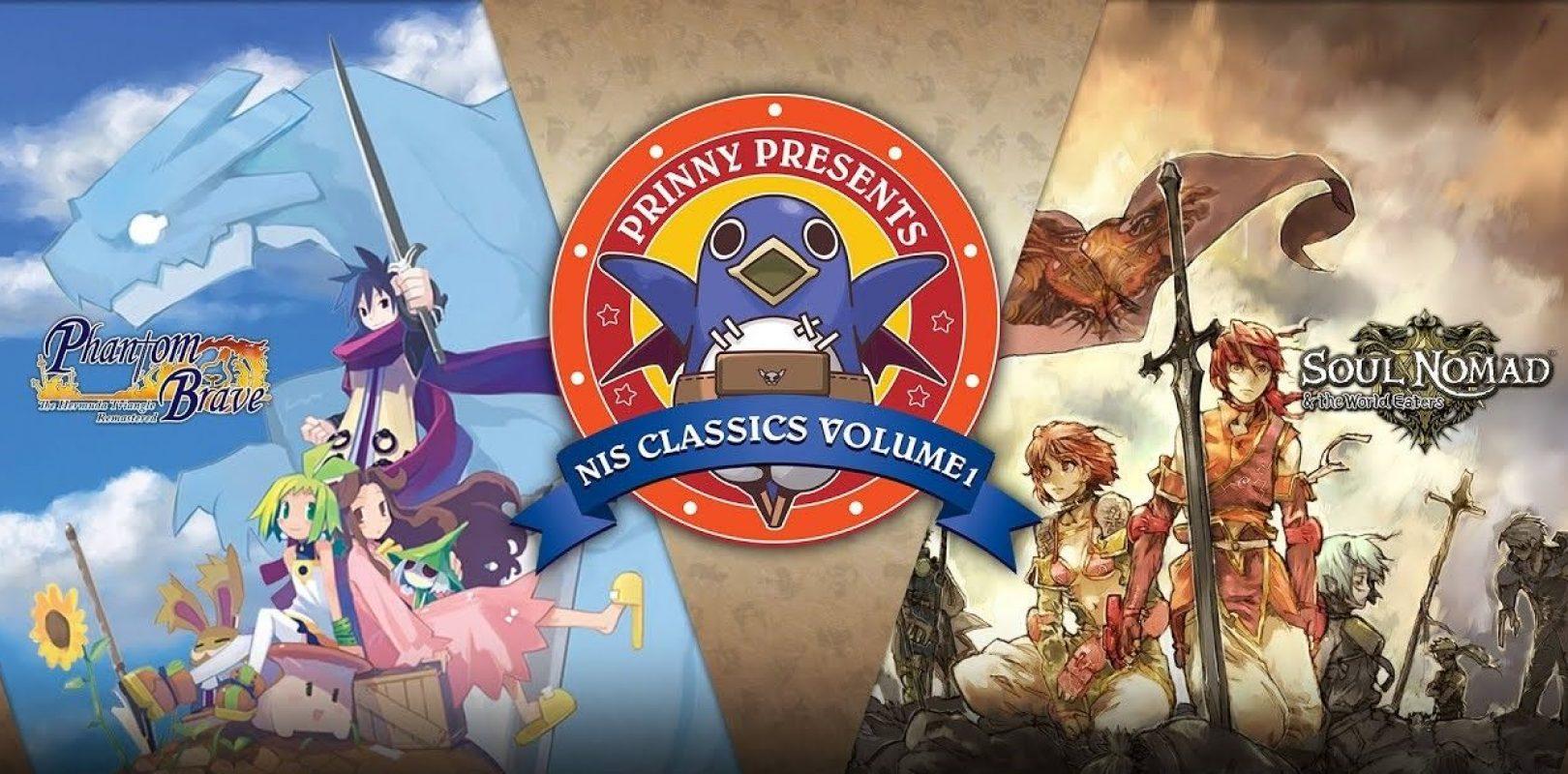 Prinny Presents NIS Classics Vol. 1 Cover