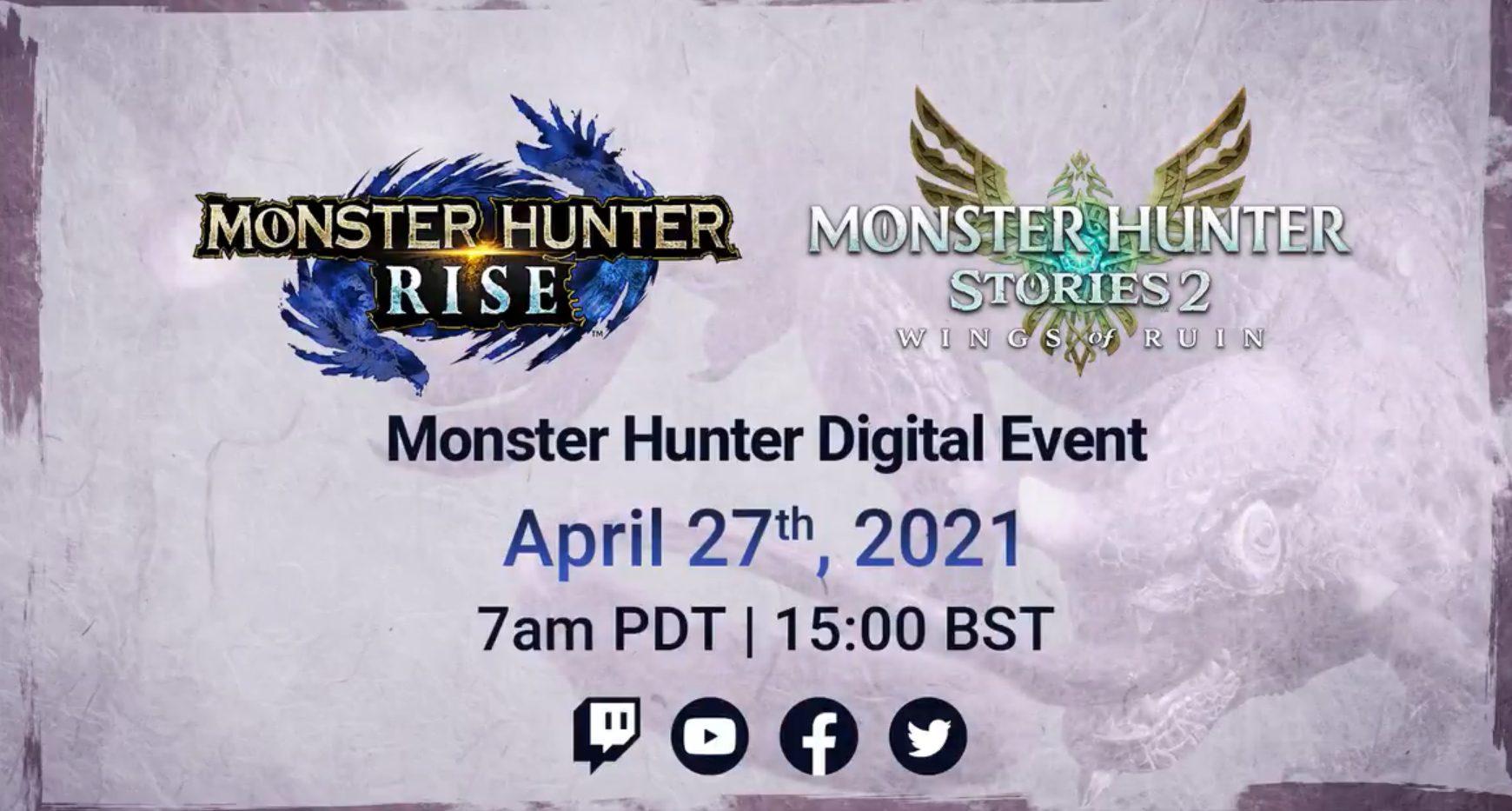 Monster Hunter Digital Event Cover