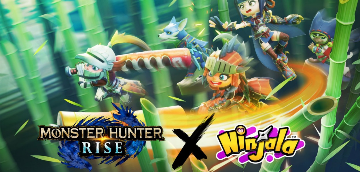 NInjala Monster Hunter Rise Cover