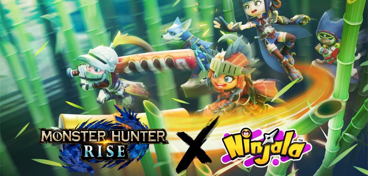 NInjala Monster Hunter Rise Cover