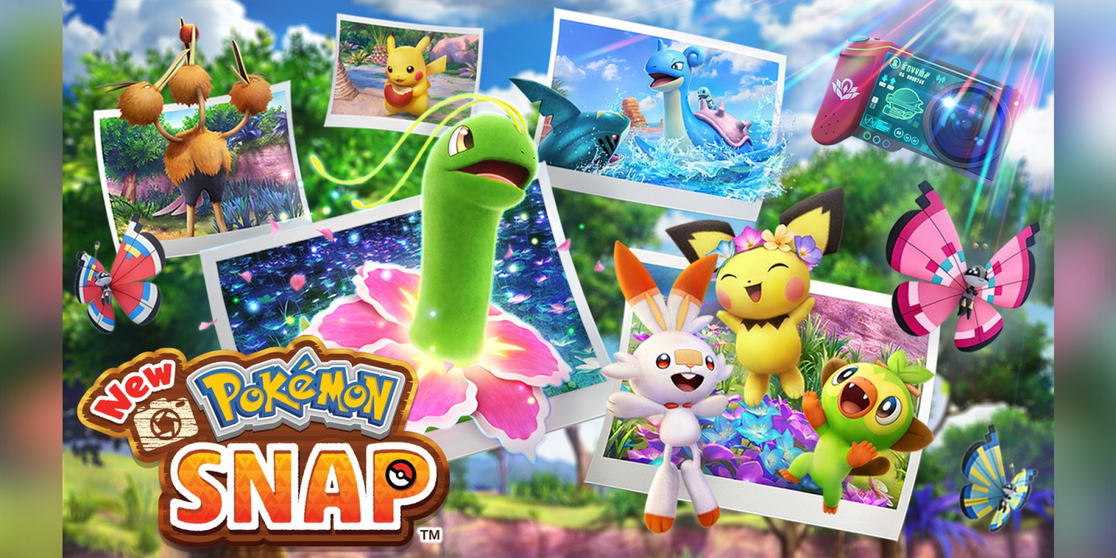 New Pokémon Snap cover