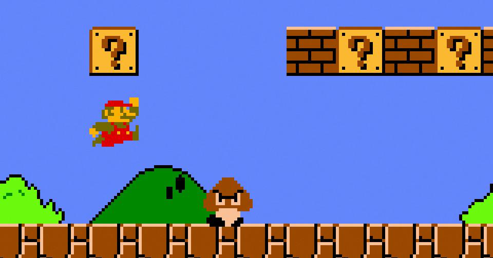 Super Mario Bros. speedrun