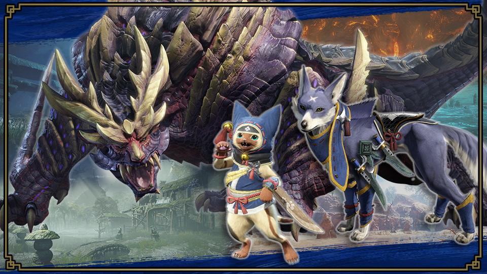 Super Smash Bros. Ultimate evento Monster Hunter Rise