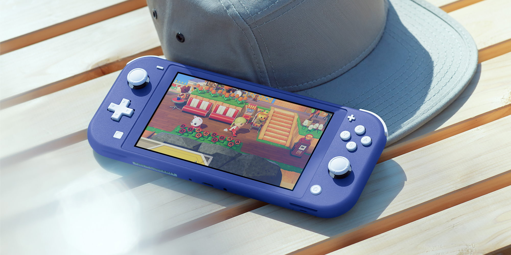 Nintendo Switch Lite blu