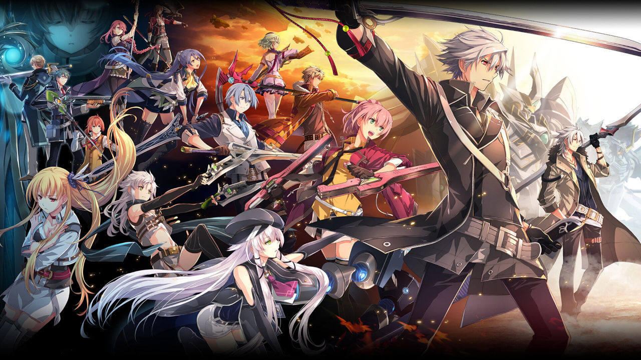 The Legend of Heroes: Trails of Cold Steel IV Cover