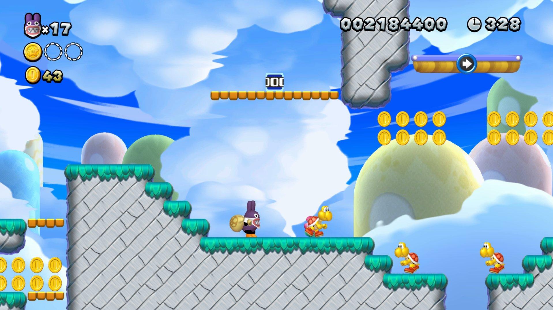 New Super Mario Bros. U Deluxe Cina