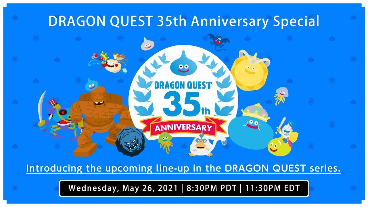 Dragon Quest Anniversario Cover