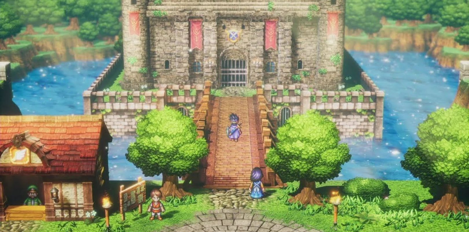 Dragon Quest III HD-2D remake Cover