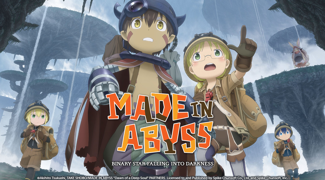 Made in Abyss: Binary Star Falling into Darkness Cover