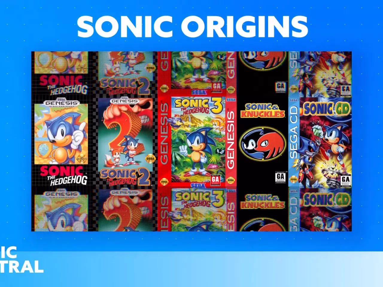 Sonic Origins Cover