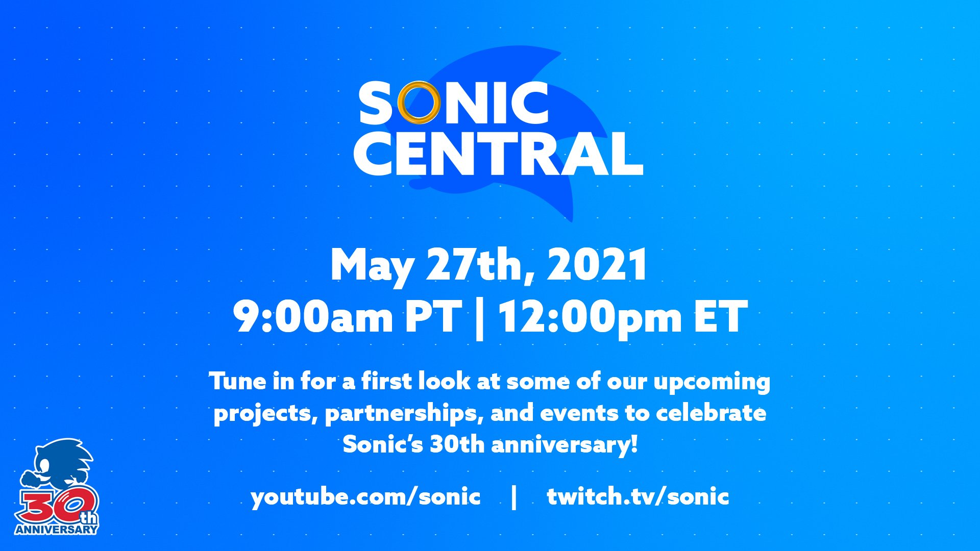 Sonic Central Cover