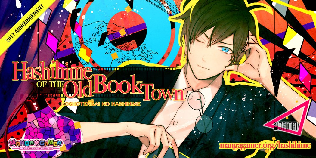 Hashihime of the Old Book Town Cover