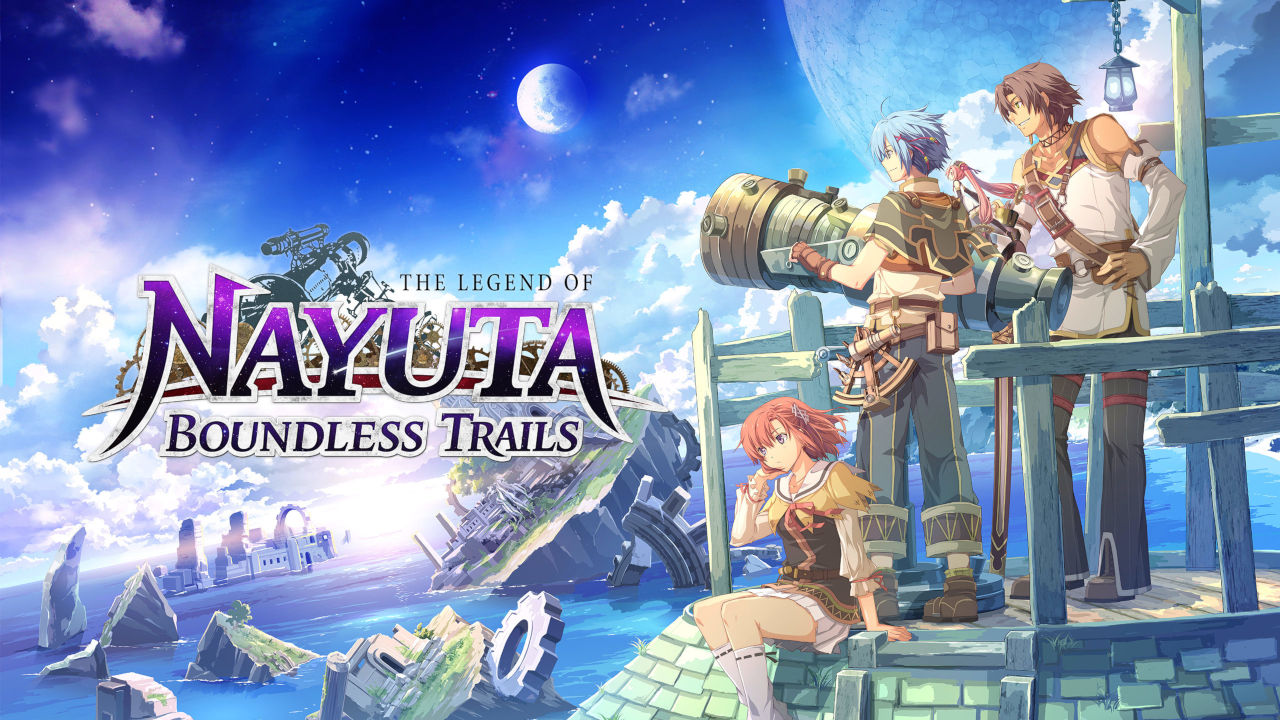 The Legend of Nayuta: Boundless Trails Cover