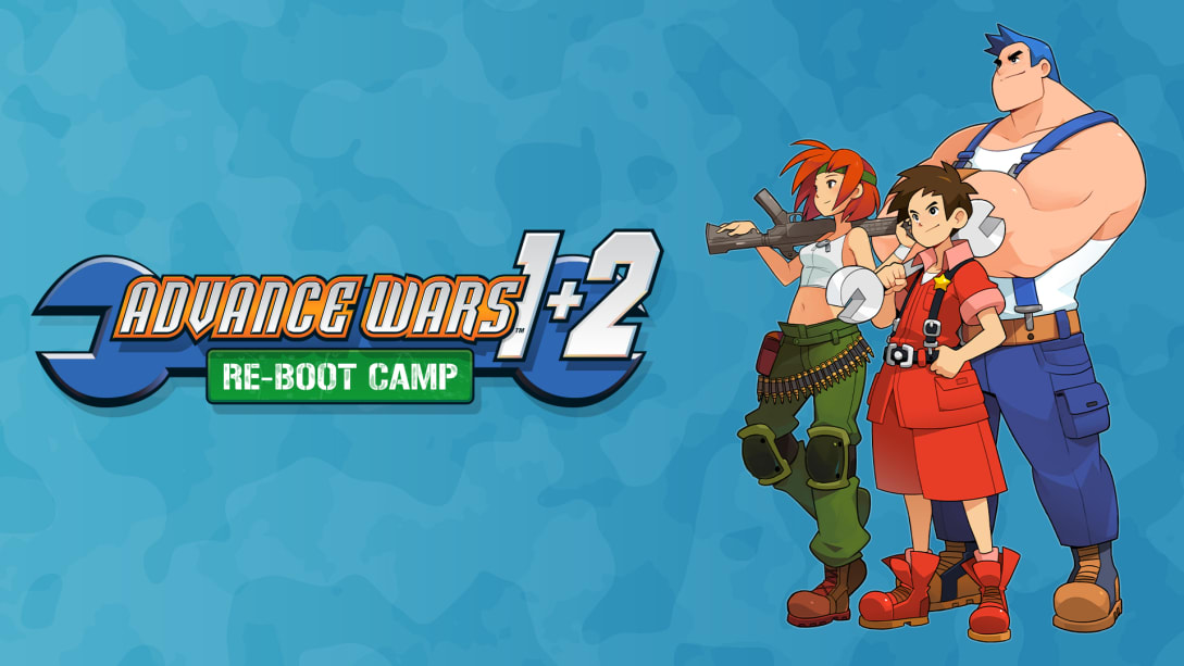 Advance Wars 1+2 Re-Boot Camp cover
