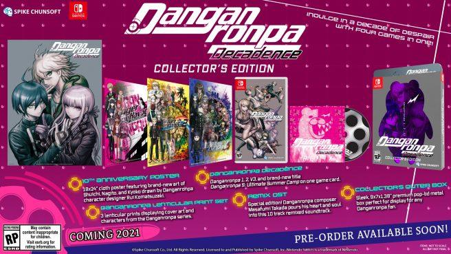 Danganronpa Decadence Collector