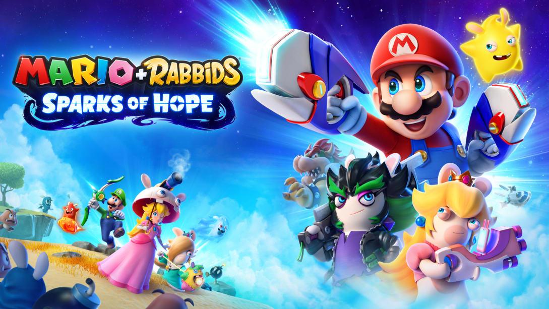 Mario + Rabbids Sparks of Hope copertina