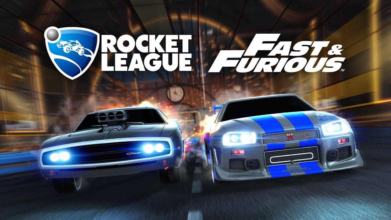 Rocket League collaborazione Fast & Furious