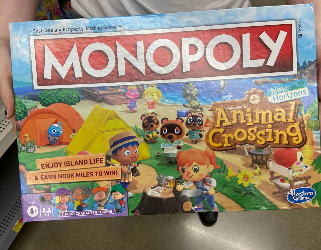 Animal Crossing: New Horizons Monopoli