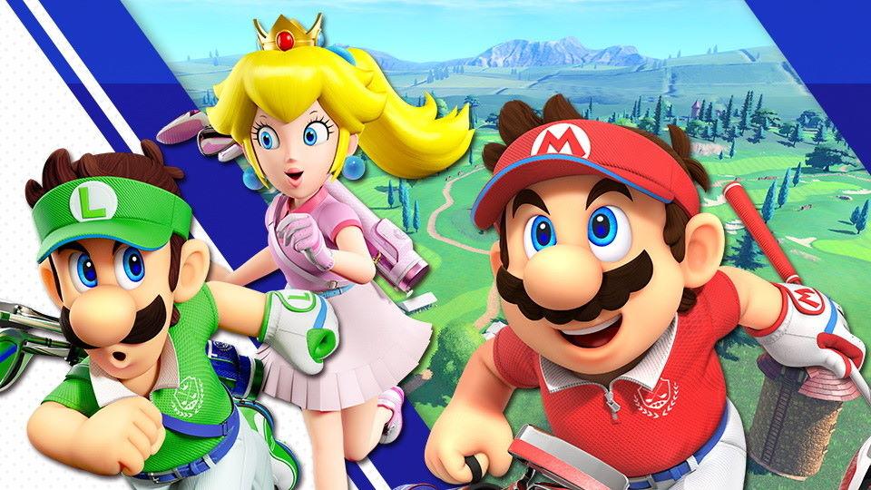 Super Smash Bros. Ultimate Mario Golf
