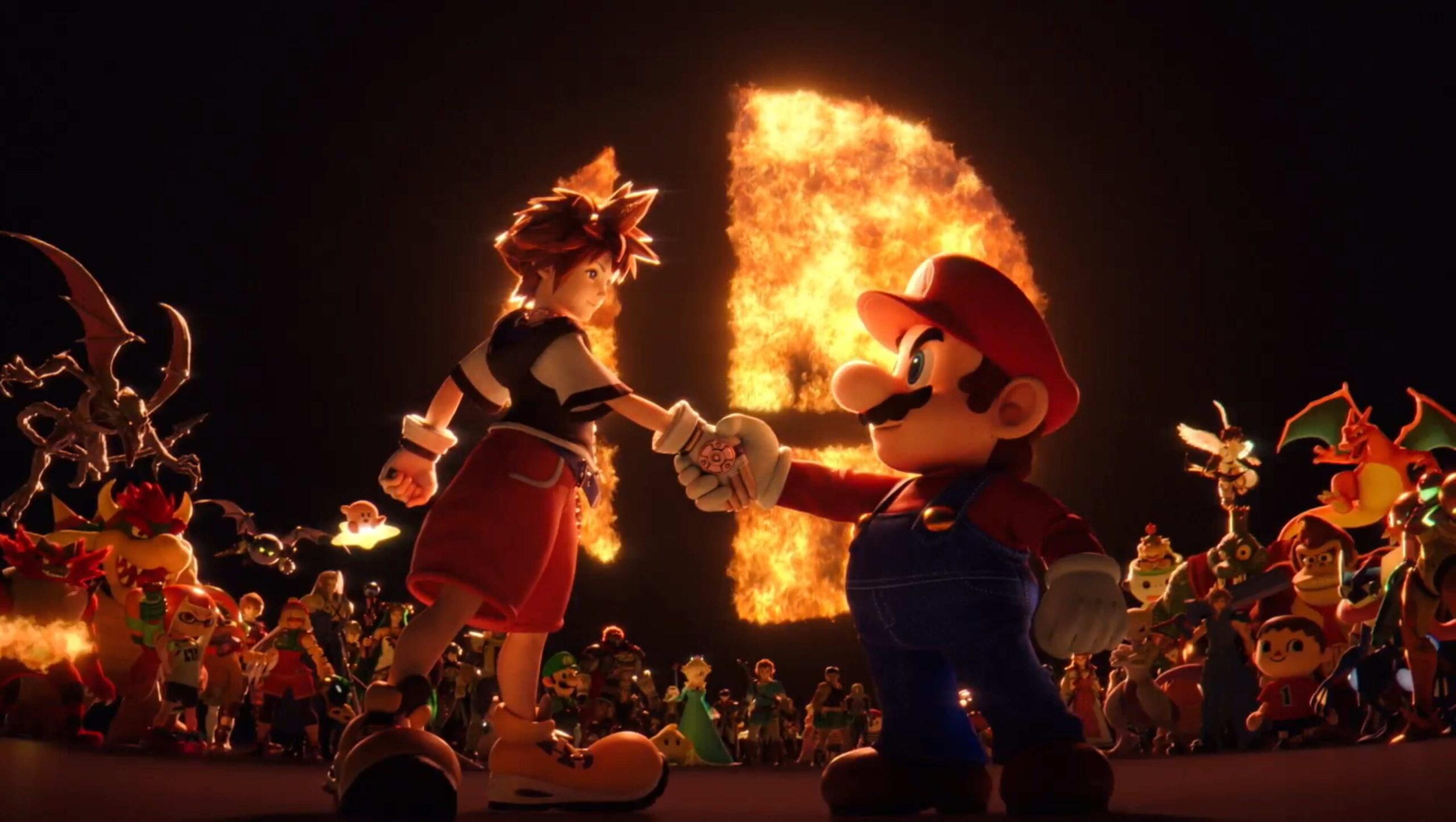 Super Smash Bros. Ultimate Mario Sora